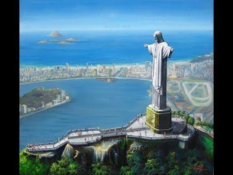 Rio de Janeiro (Pinturas em óleo sobre tela - Video 1)