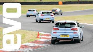Promoted: Hyundai i30 N Brands Hatch track day by EVO Magazine