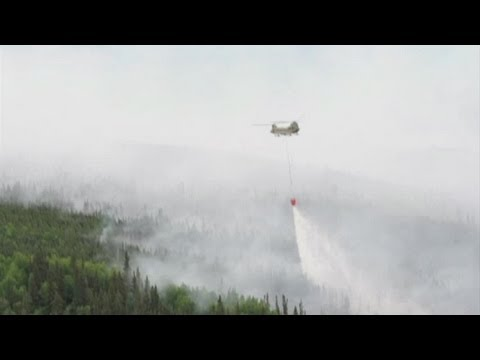 Bambi Bucket Operations – Stuart Creek Wildfire, Alaska | AiirSource
