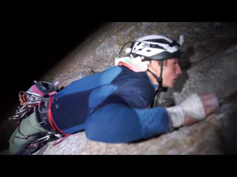 Pete Whittaker, without a partner, a film about climbing alone.