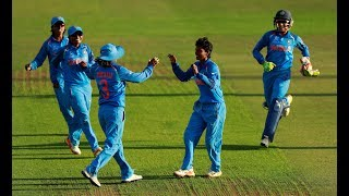 India stunned defending champions Australia by 36 runs to secure a spot in the Women's Cricket World Cup final after an...