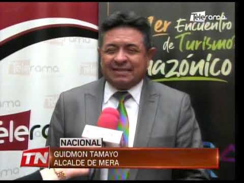 Alcalde de Mera invita al primer encuentro nacional de turismo amazónico