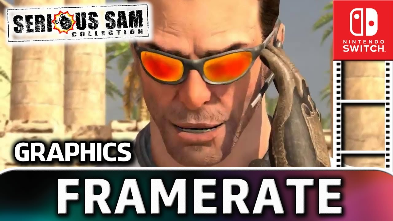 Serious Sam Collection | Nintendo Switch Gameplay and Frame Rate