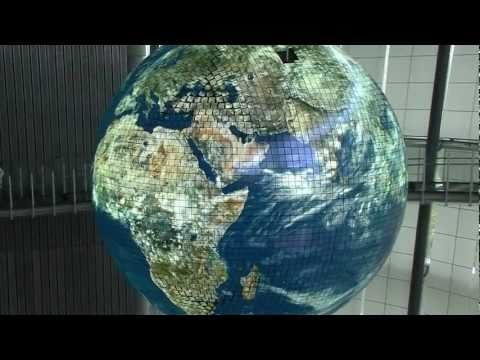 Japan: Giant Globe OLED Display Geo-Cosmos