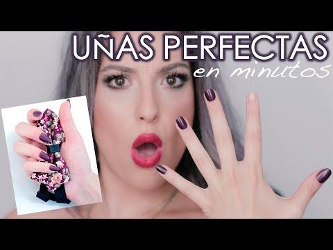 Modelos de uñas - Como tener uñas perfectas en minutos. UÑAS ELEGANT TOUCH + HAUL UÑAS PRIMARK / Eunice Tiebow