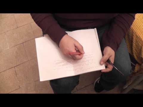 la misteriosa scrittura automatica