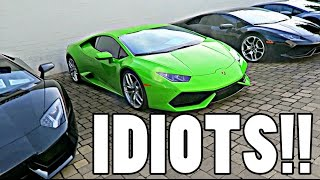 IDIOTS GO CAR SHOPPING IN AMERICA!! by Supercars of London