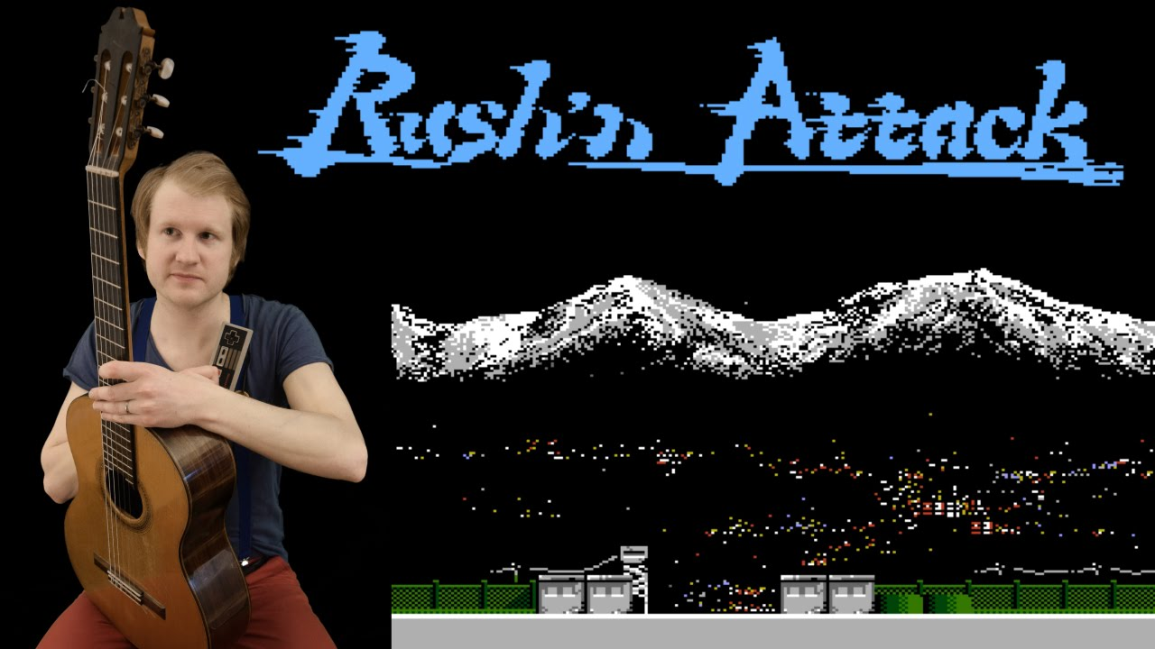 Rush'n Attack – Stage 1 (Nes, Acoustic, Electric Guitar & Base Cover)