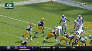 Aaron Rodgers to Richard Rodgers for the Play Action TD Pass! | Lions vs. Packers | NFL