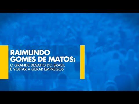 Raimundo Gomes de Matos: O grande desafio do Brasil é voltar a gerar empregos