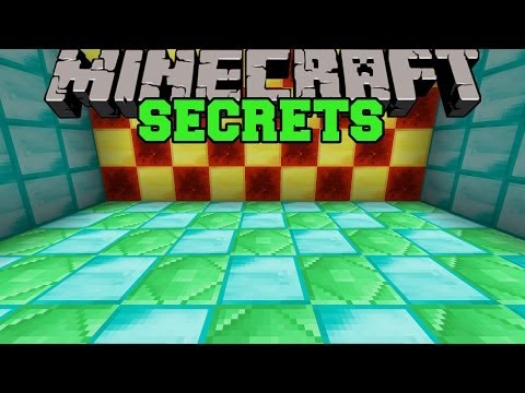 Minecraft: SECRETS! (HIDDEN AREAS AND ROOMS!) Mod Showcase