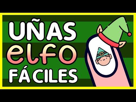Uñas decoradas - COLORIDAS Y FACILES · UÑAS ELFO DE NAVIDAD
