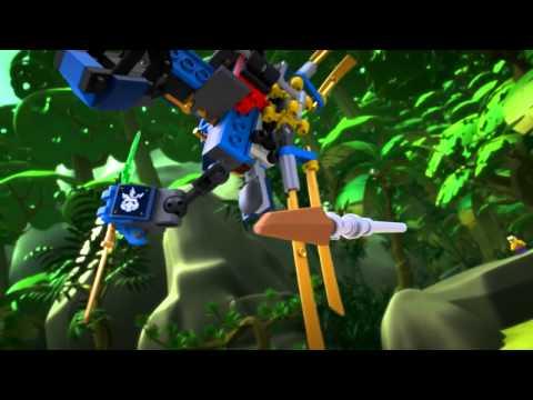 Vidéo LEGO Ninjago 70754 : ElectroRobot