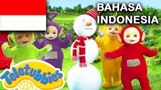 Download Video ★Teletubbies Bahasa Indonesia★ Bola Salju ★ Full Episode - HD | Kartun Lucu 2018 MP3 3GP MP4