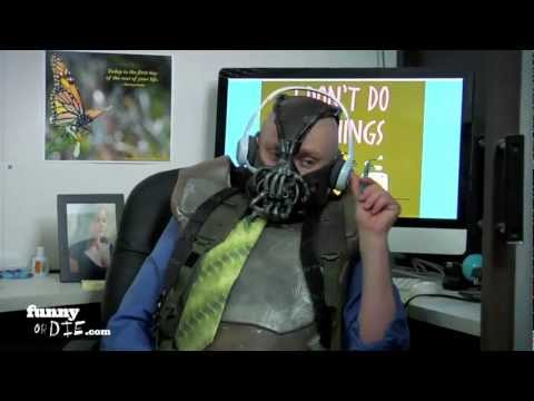 Bane the Telemarketer with Chris Kattan