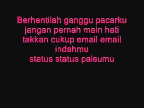 Aliff Aziz - Jangan Ganggu Pacarku ( With Lyrics)