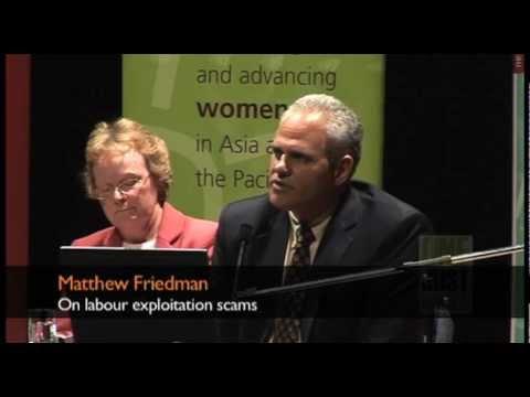 Matthew Friedman on labour exploitation scams