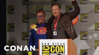 Video Conan Crashes Comic-Con  - CONAN on TBS MP3, 3GP, MP4, WEBM, AVI, FLV Desember 2018