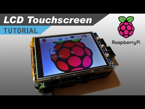 How to Setup an LCD Touchscreen on the Raspberry Pi