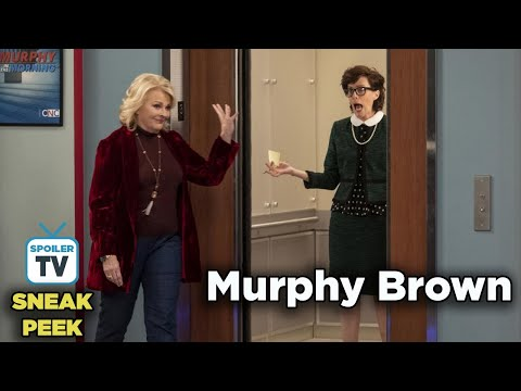 "Murphy Brown 11x08 Sneak Peek 2  ""The Coma and the Oxford Comma"""