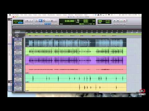 Pro Tools for Beginners Tutorial – Part 1 – Navigation