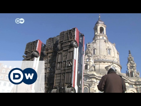 Aleppo in Dresden – Streit um Kunstinstallation | DW Interview