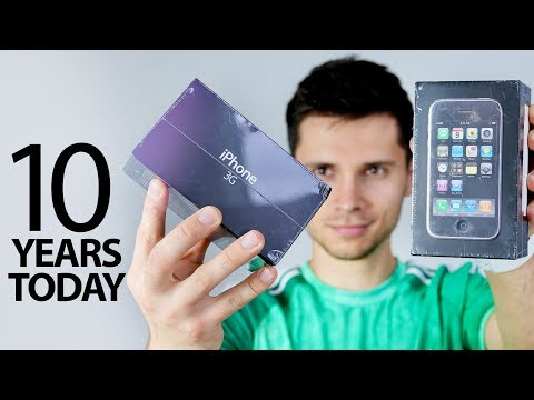 iPhone 3G Unboxing! 10 Years Old Today
