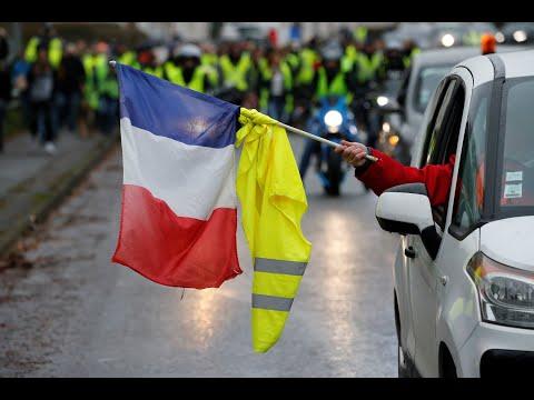 Παρίσι: Νέα επεισόδια στις διαδηλώσεις των Κίτρινων Γιλέκων…