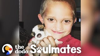Boy And His Puppy Both Have The Same Cleft Palates | The Dodo Soulmates by The Dodo