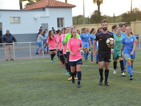"""Resumen y goles. At. Isleño Féminas vs Club Amigos 80 """"B"""""""