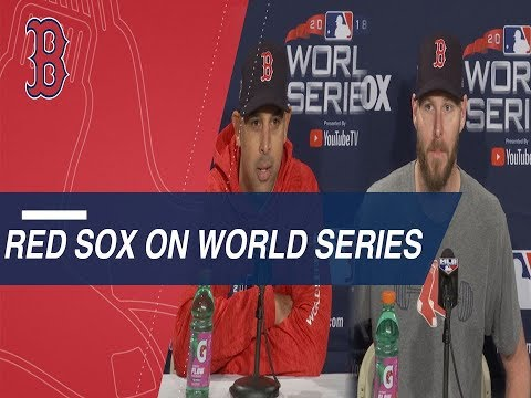 Video: WS 2018 Gm1: Cora and Sale preview the World Series