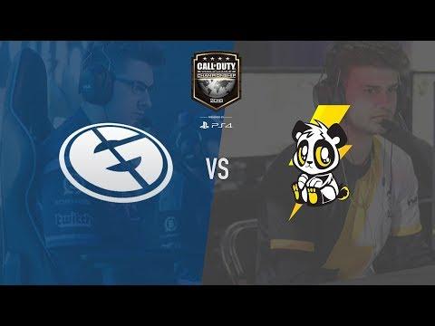 Lightning Pandas vs Evil Geniuses   CWL Champs 2018   Day 4 (видео)
