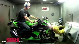 6. 2013 Kawasaki Ninja 300 gets Dyno Tested