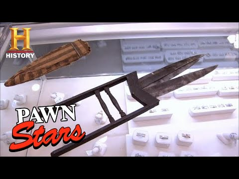 Pawn Stars: Chum Goes WILD for DANGEROUS Ninja Dagger (Season 7) | History