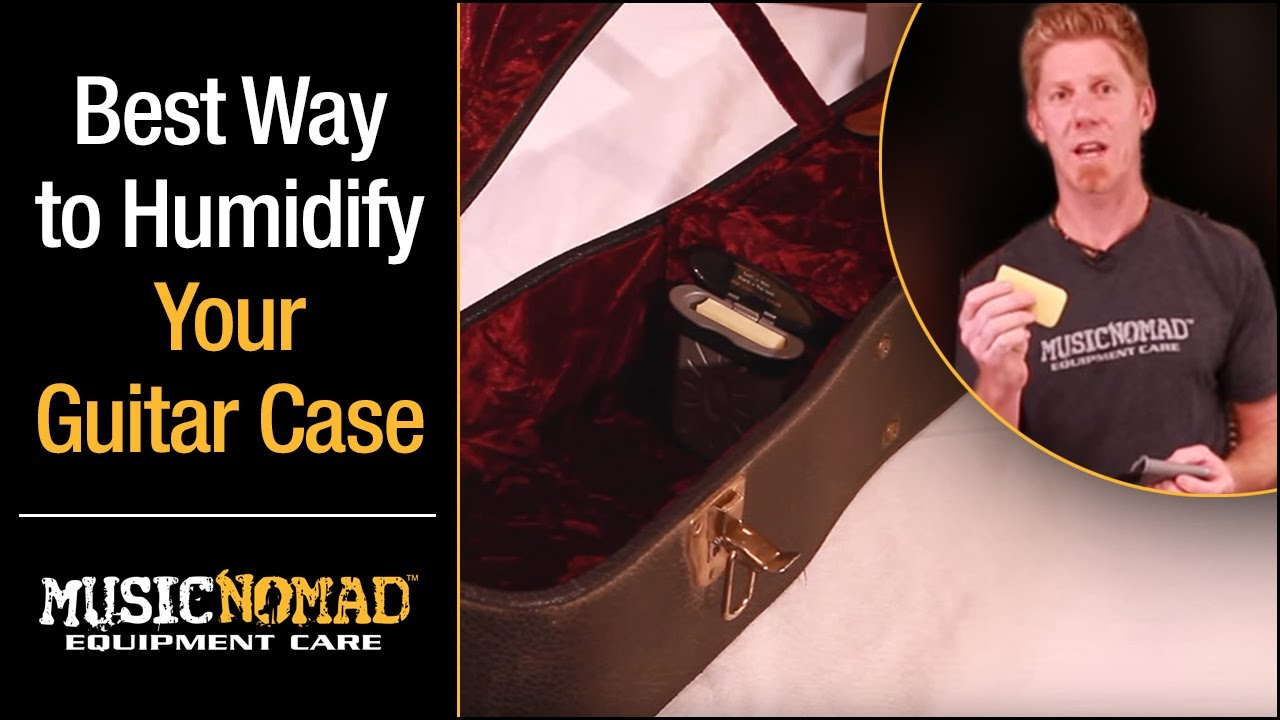 How to Humidify a Guitar Case (Electric & Acoustic Guitar Humidifier)