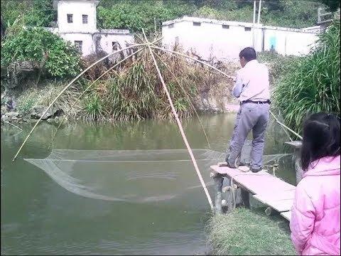 Подъёмник для рыбы своими руками
