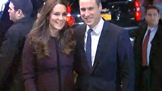 Raw: Prince William, Kate Arrive In NYC