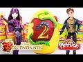 DESCENDIENTES 2 Huevo Sorpresa Gigante con Juguetes en Español de PlayDoh - Unboxing Fantástico!