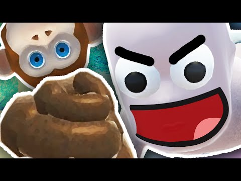 BABY EATS MONKEY POOP?! | Who's Your Daddy