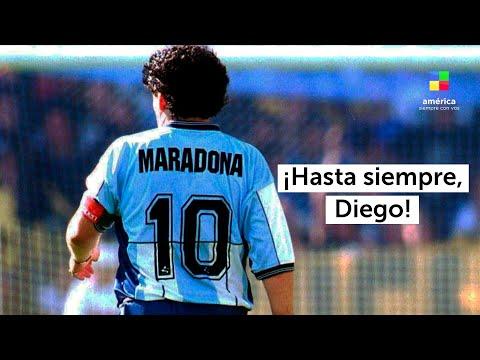 El adiós a Diego Armando Maradona: seguí la cobertura de la noticia en vivo por América TV