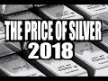 DAVID MORGAN: Silver Price Forecast For The Next 3 Months 2018