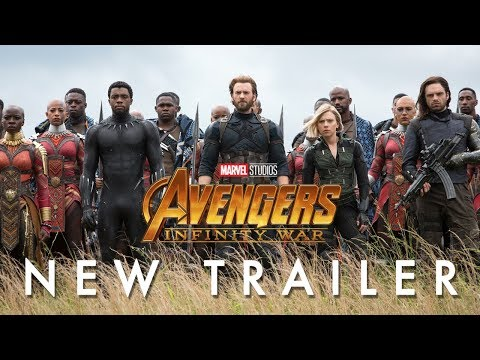 Marvel Studios' Avengers: Infinity War - Official Trailer (видео)