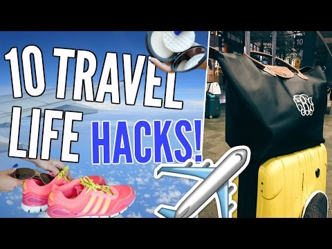 10 Travel Life Hacks You NEED to Know! ! | Cicily Boone