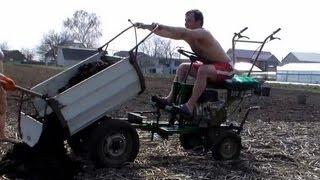 Завоз удобрения на огород