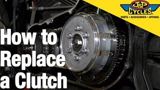 5. How to Replace a Clutch in a Big Twin Harley Davidson