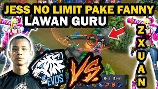 Video EVOS vs Squad ZXUAN,HALLU : Jess No Limit Pakai Fanny MP3, 3GP, MP4, WEBM, AVI, FLV Agustus 2018
