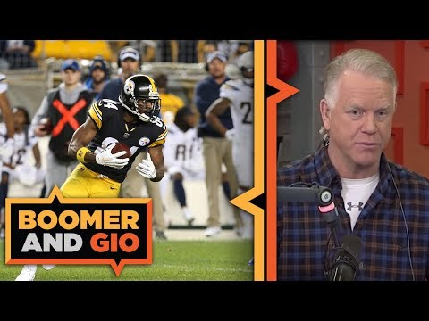 Video: Steelers are WILLING to trade Antonio Brown | Boomer and Gio