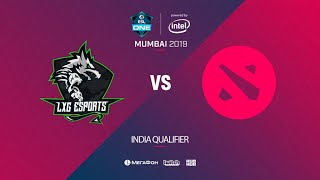 LXG Esports vs  Comin Soon, ESL One Mumbai India Quals, bo5, game 1 [Eiritel & Lumisit]