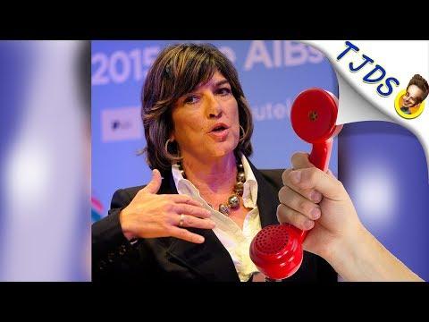 CNN Host Talks SEX & Conspiracies-w/Christiane Amanpour