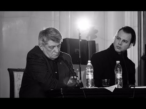 Встреча с Теодором Курентзисом и Александром Сокуровым